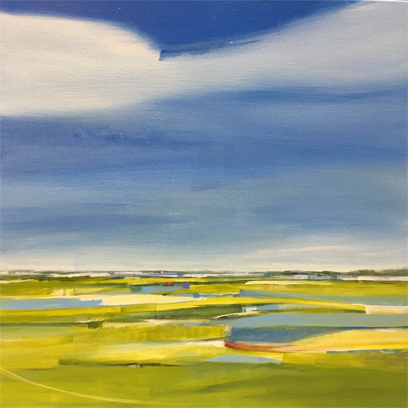 Golden Hour Salt Marsh
