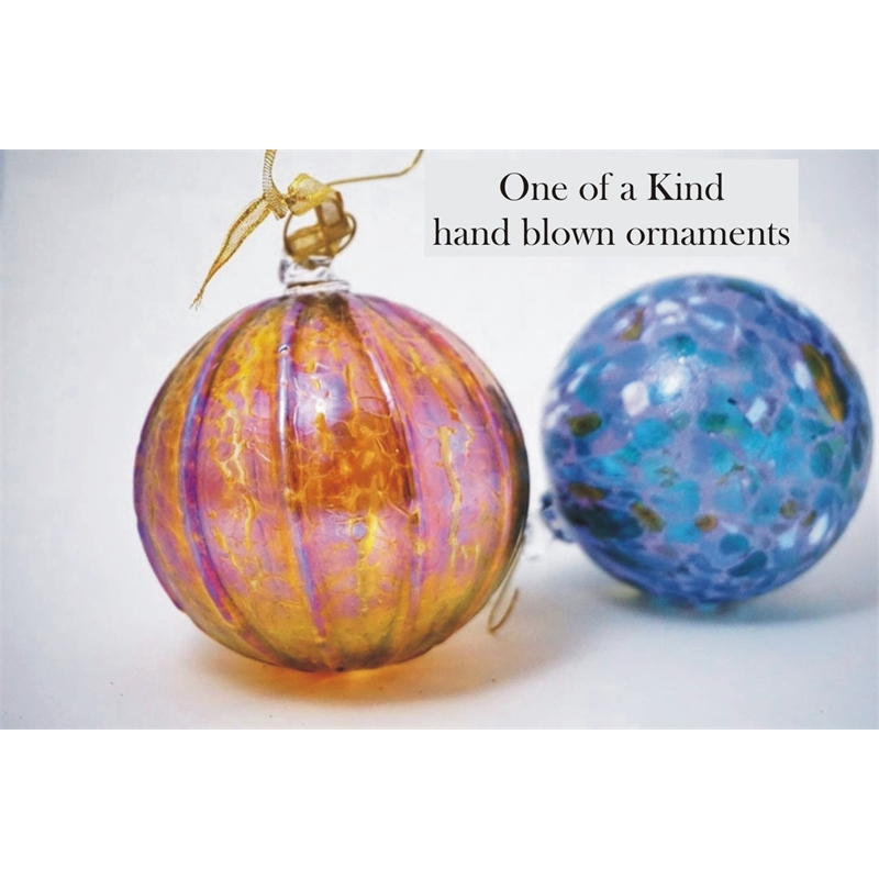 Blown Glass Ornament, 2019
