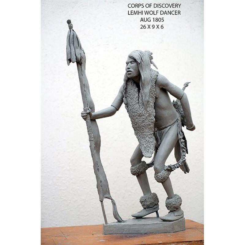 Lemhi Wolf Dancer (3/30)