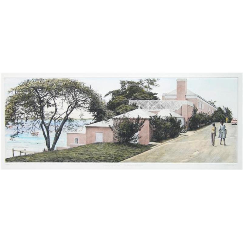 """""""House by the Sea"""" Eleuthera, Bahamas (37/40), 1984"""
