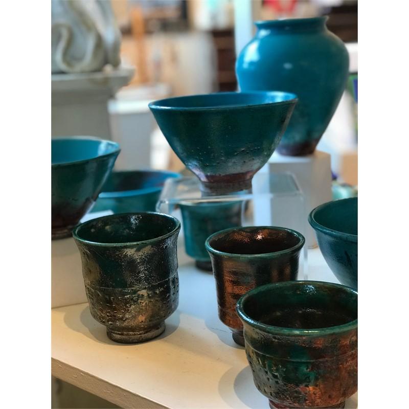 Raku pottery, 2019