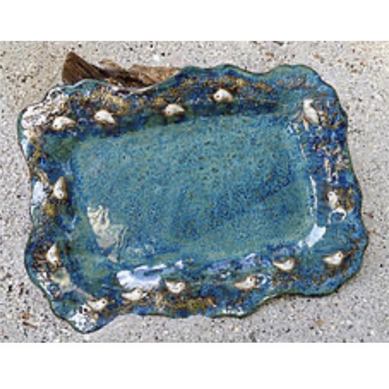 Sandpiper Rectangular Platter, 2019