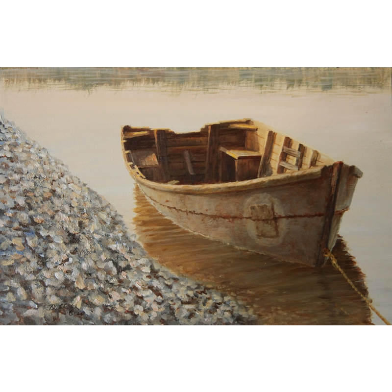 At the Oyster Factory by Douglas Grier