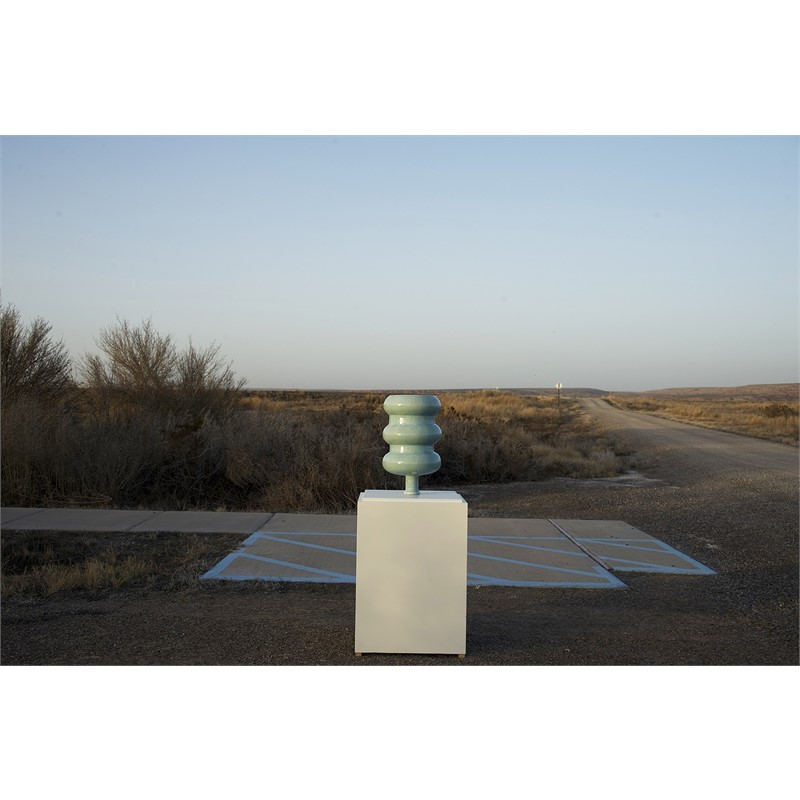 THE EVANGELICAL WATER BOTTLE AT BITTER LAKE, FOR MICHAEL LOHR, 2017
