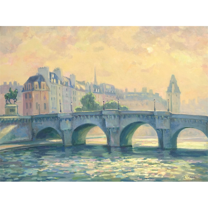 """""""Pont Neuf in the Mist"""", 2019"""