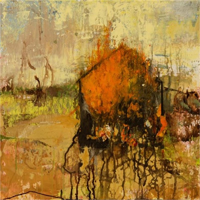 Barn Series: Yellow Sky