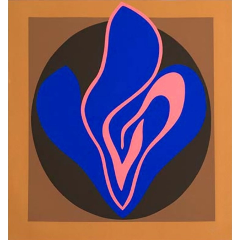 Untitled from Blue/Brown Suite (62/100), 1978