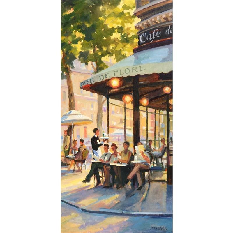 """""""A Sunny Afternoon at Café de Flore"""""""