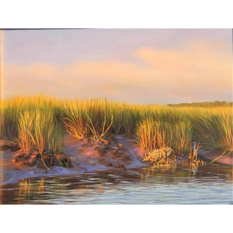 Sunset at Low Tide, Study by Douglas Grier