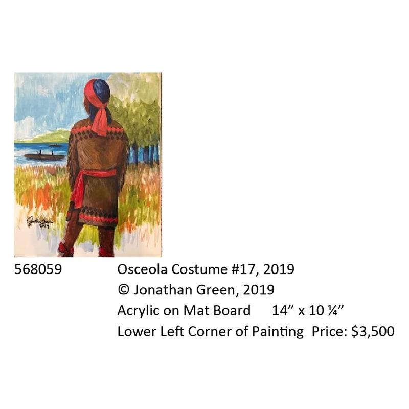 Osceola Costume #17, 2019