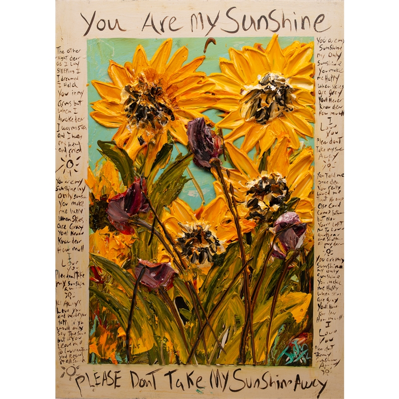 YOU ARE MY SUNSHINE URMS HPAE 12-50-24X32-2019-34 (12/50), 2019
