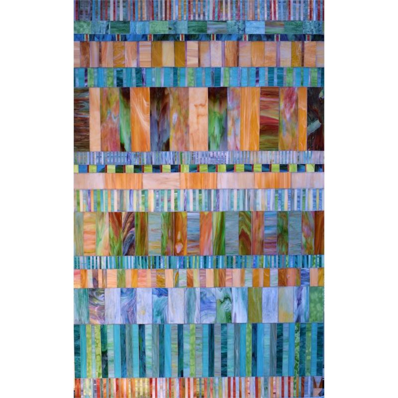 Iced Caramel (Stripes) by Mary Borgen