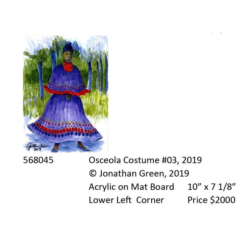 Osceola Costume #3, 2019