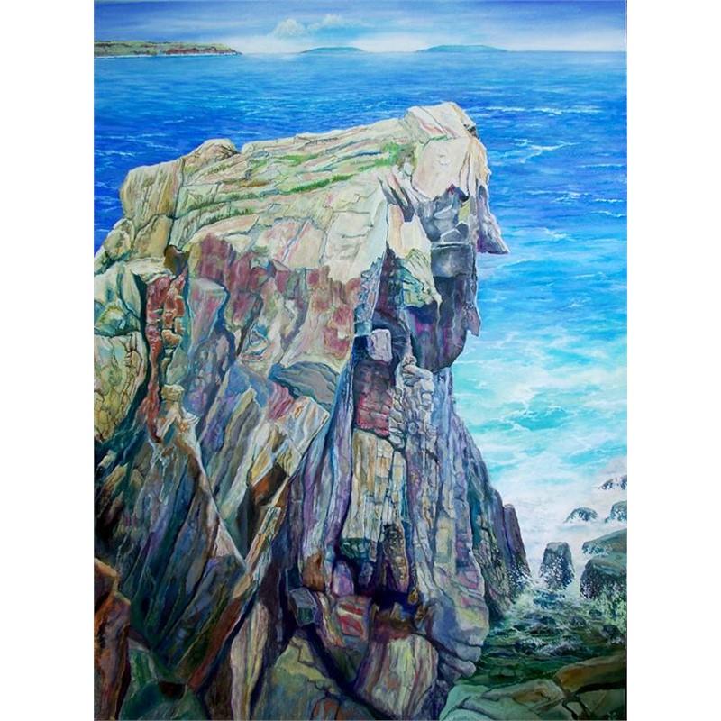 Rock Along Cliff Way Walk
