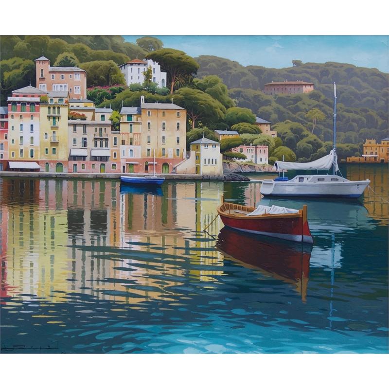"""Manana Soleada - Portofino"", 2017"