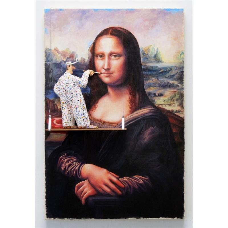 Mona Lisa (da Vinci) by Stephen Hansen