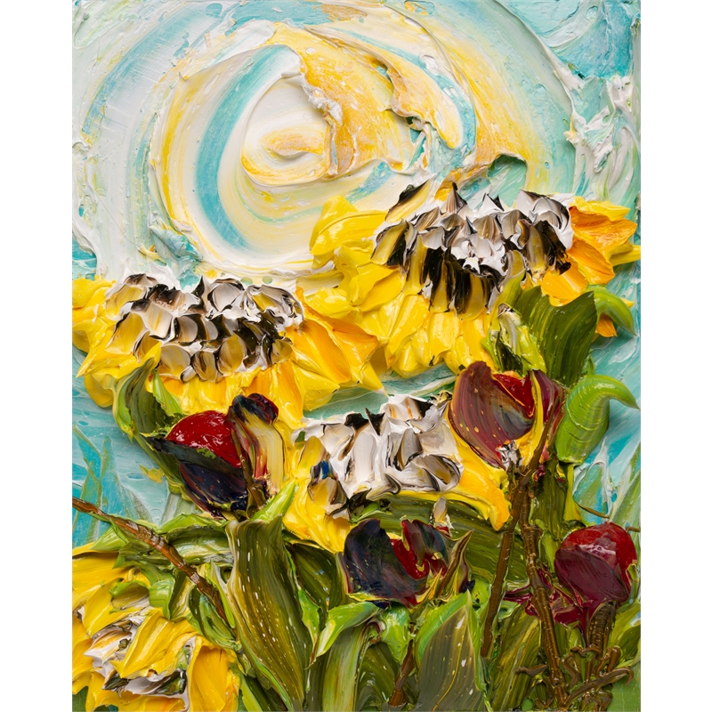SUNFLOWERS SF-16X20-2019-381, 2019