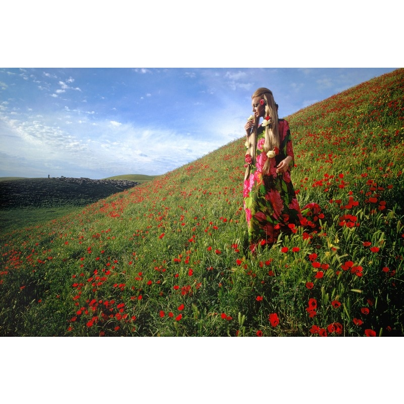 Afghanistan: Poppies near Kunduz (Edition 13/100), 1968