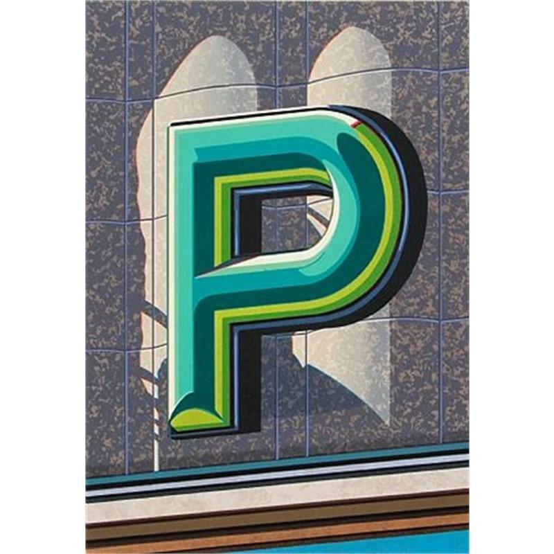 An American Alphabet: P (1/40), 2005