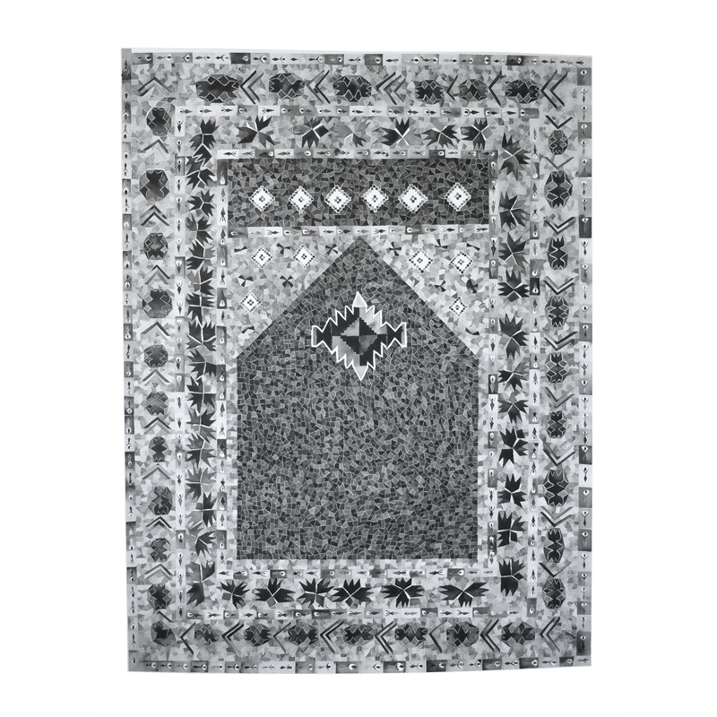 Grey Prayer Rug, Iraq