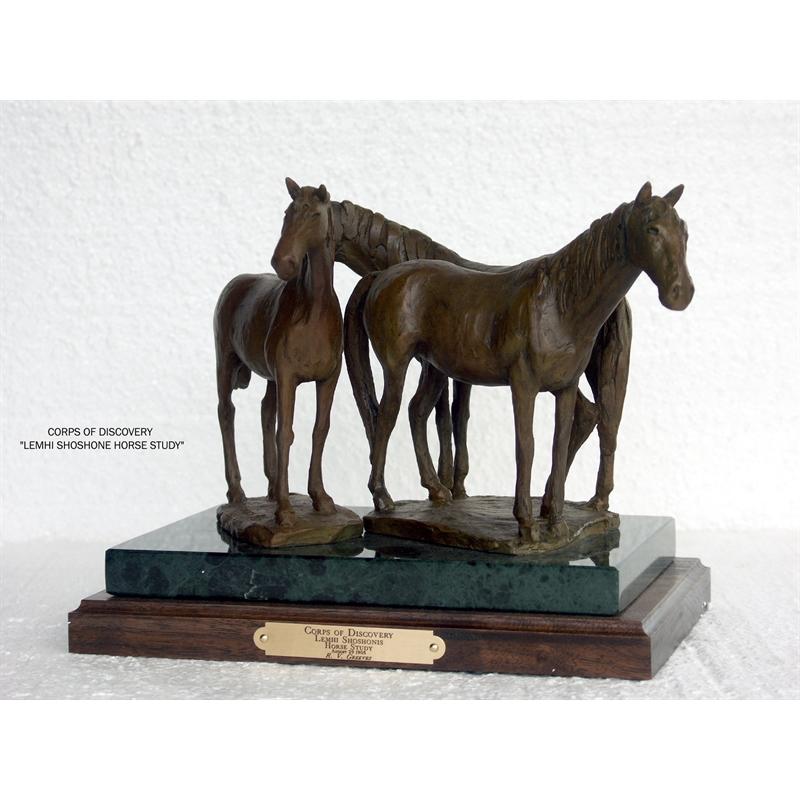 Lemhi Shoshone Horse Study (7/50)