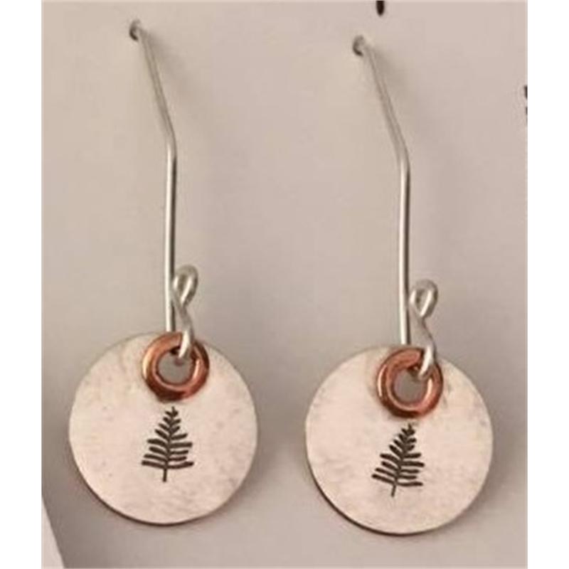 Evergreen Tree Earrings, 2019