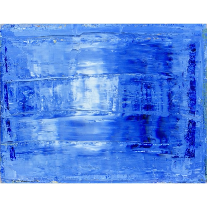 Blue-White No. 15, 2014