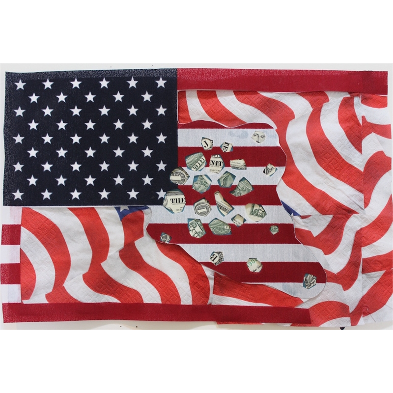 Deborah Mersky, Falling Money Flag