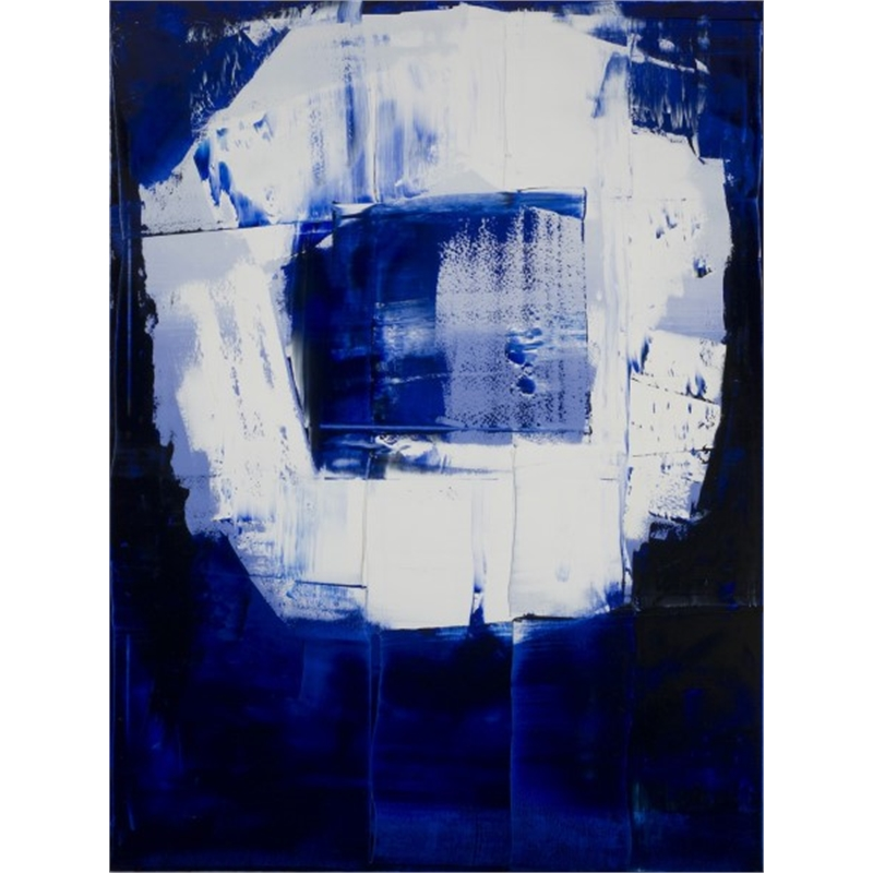 Blue-White No. 3, 2013