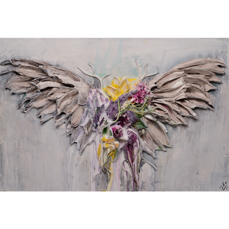 FLORAL WINGS FL-36X24-2019-349, 2019