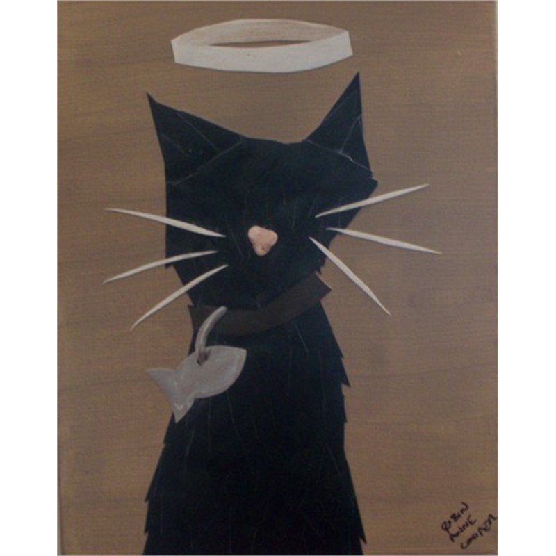 Angel Cat by Robin Cooper