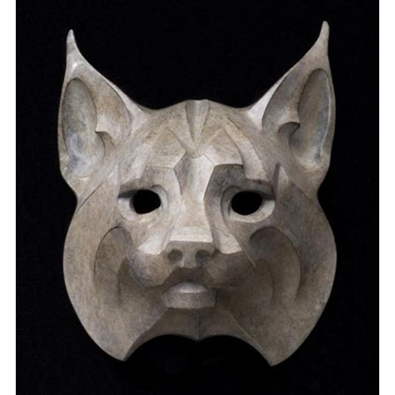 Bobcat Mask Maquette (23/50)