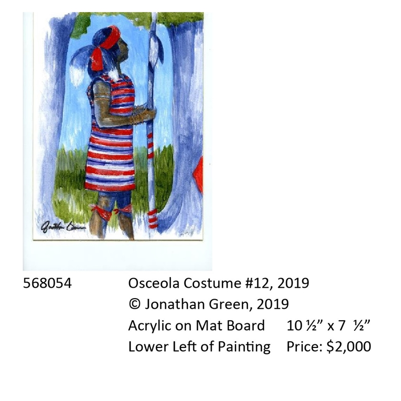 Osceola Costume #12, 2019