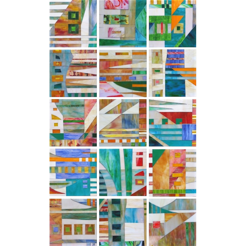 Excursion (8 Panels) by Mary Borgen