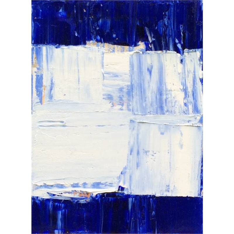 Blue-White No. 7, 2014