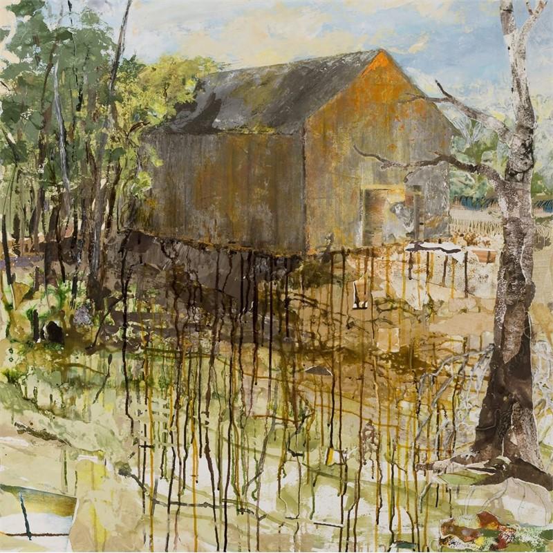 Barn Series: Pond