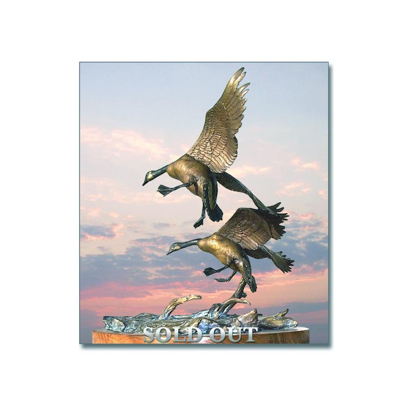 Honker's Landing (Geese) (4/75)