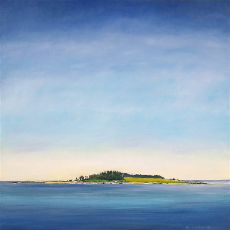 Richmond Island from the Northeast #5, 2018