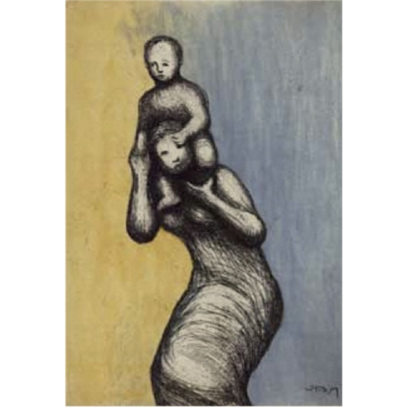 Mother and Child VIII (1/65), 1983