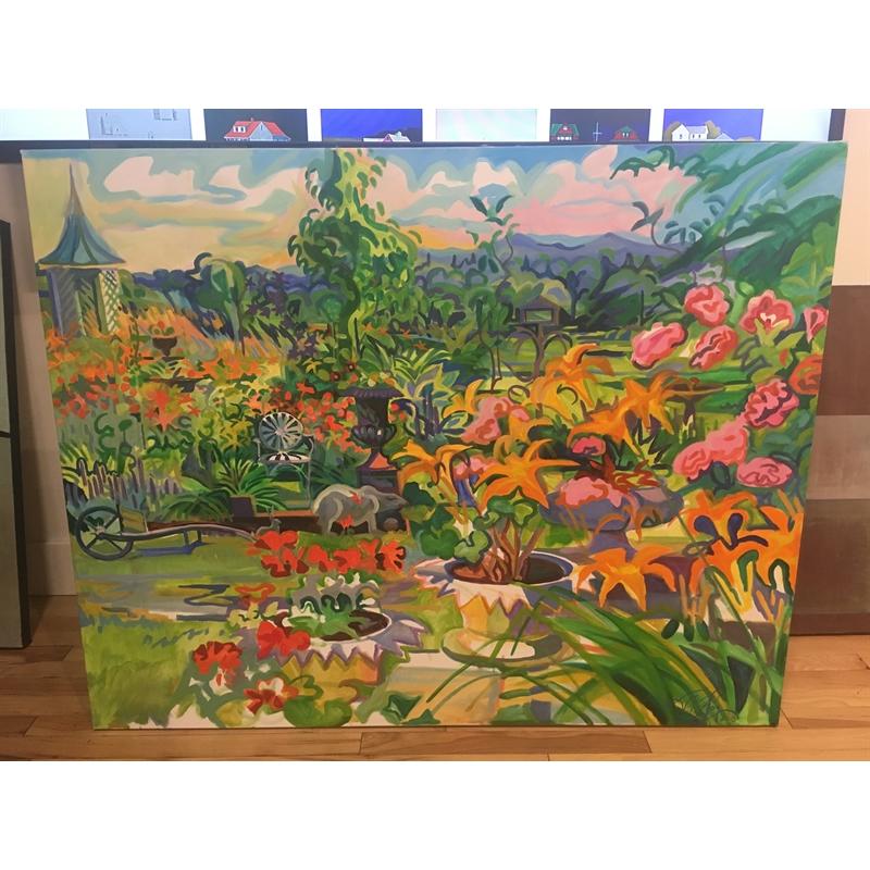 Ma's Splendid Garden, Paris Hill