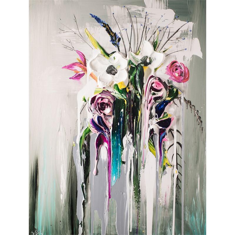 ABSTRACT FLORAL BOUQUET AFB30X40-2018-2.75NF HPAE 5/50 (5/50), 2018