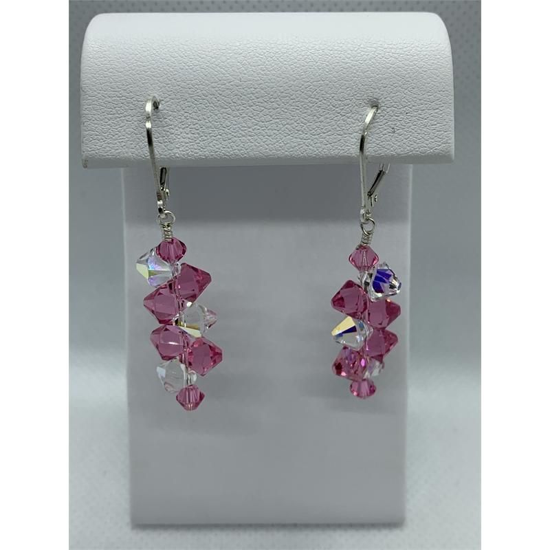 Babe in Pink Earrings by Shoshannah Weinisch