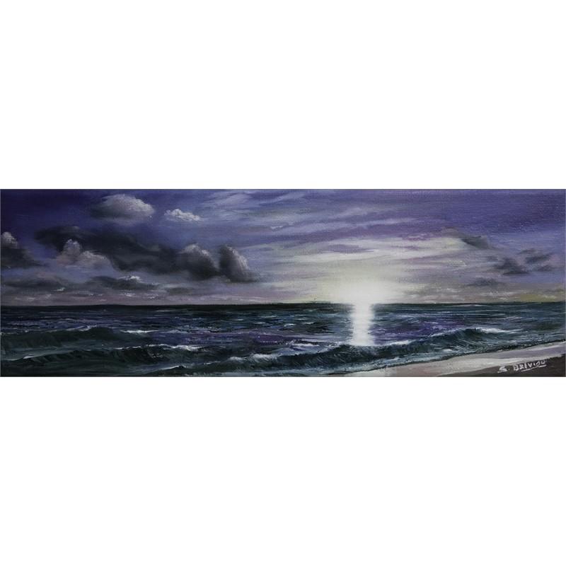 Purple Ocean by Silvia Belviso