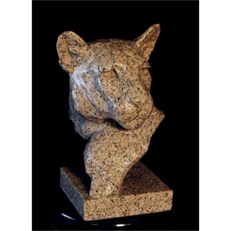 Cougar's Head Bust