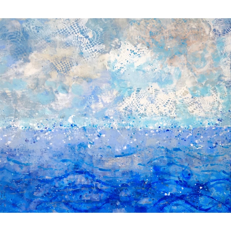 Sea and Sky #4 (Diptych 1 of 2)