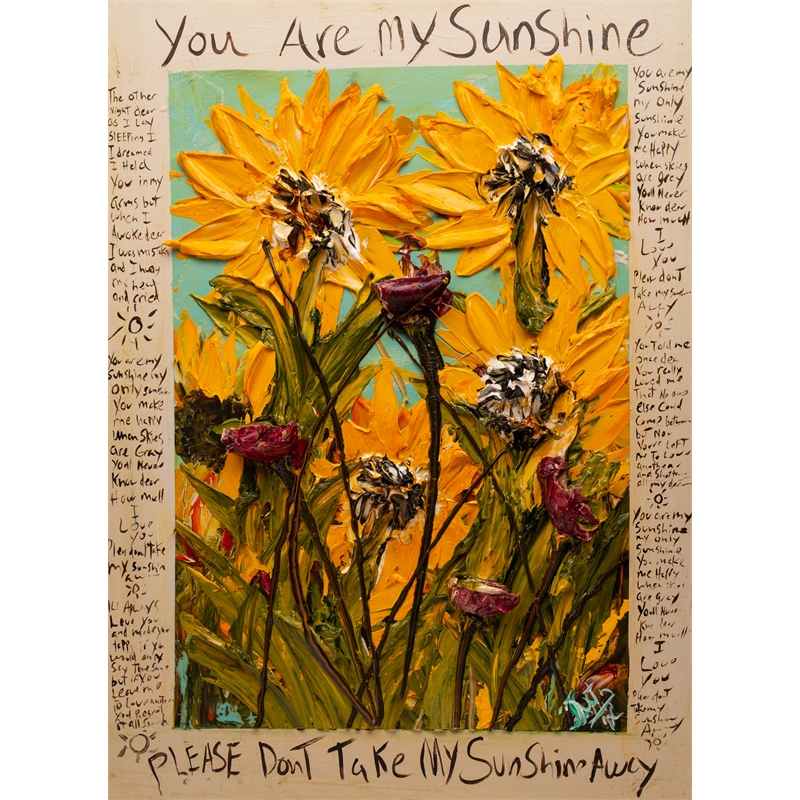 YOU ARE MY SUNSHINE URMS HPAE 11-50-24X32-2019-33 (11/50), 2019