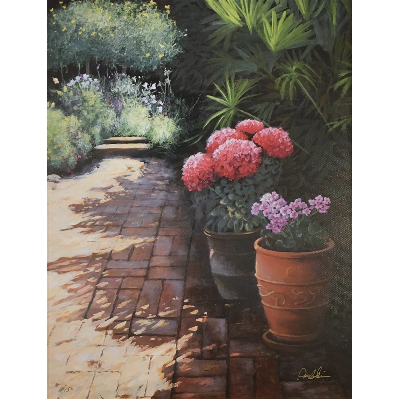 State Street Courtyard, II by Douglas Grier -- Giclee Prints