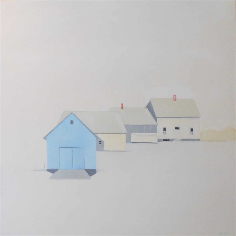 Blue Barn: White