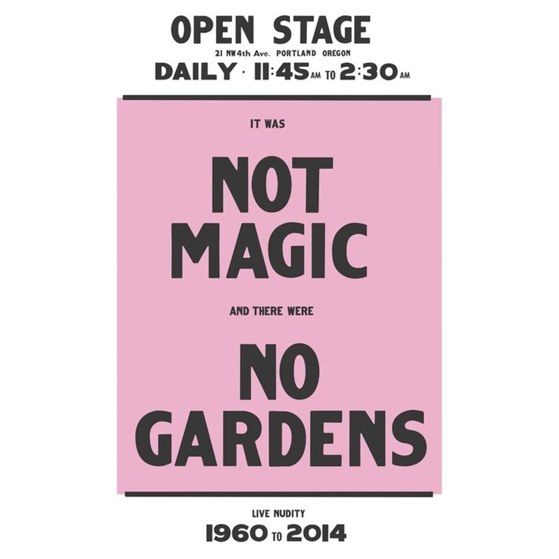 """Not Magic No Gardens"" by Chris Larson"