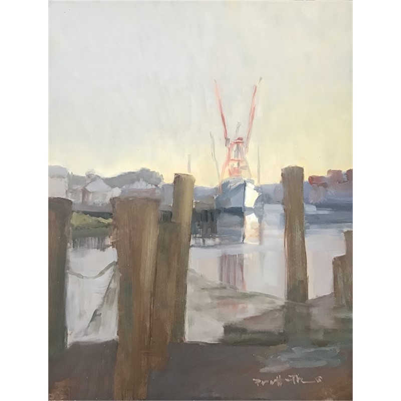 Peaking through the Piers, 2018